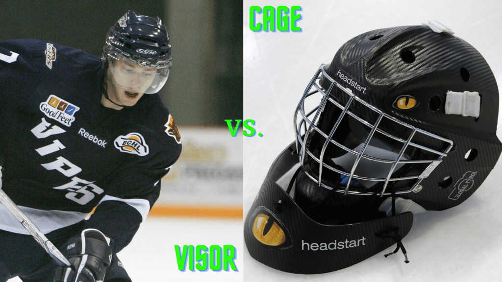 Hockey Cage Vs Visor